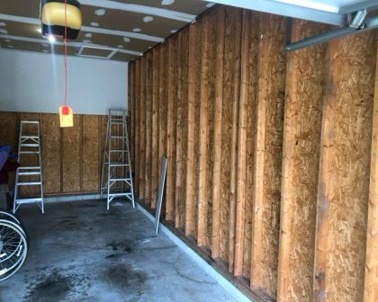 Drywall Before